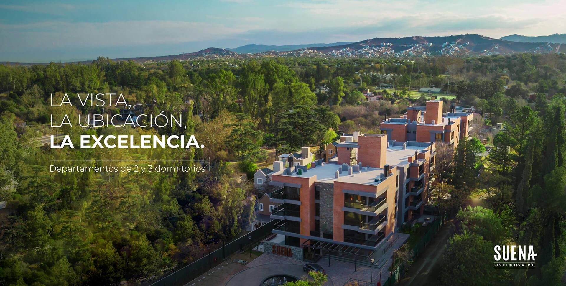 Suena Residencias al Río - Departamentos en Villa Warcalde